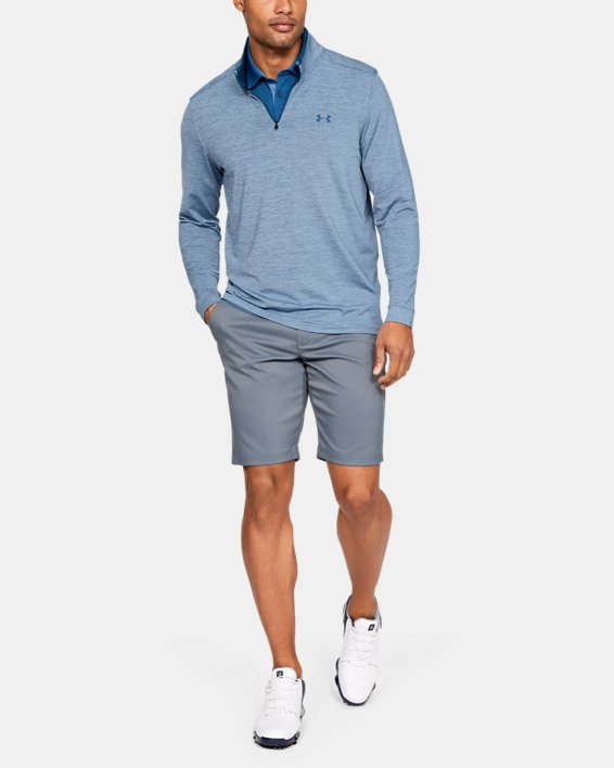 Men's UA Playoff 2.0 ¼ Zip, Blue, pdpMainDesktop image number 1